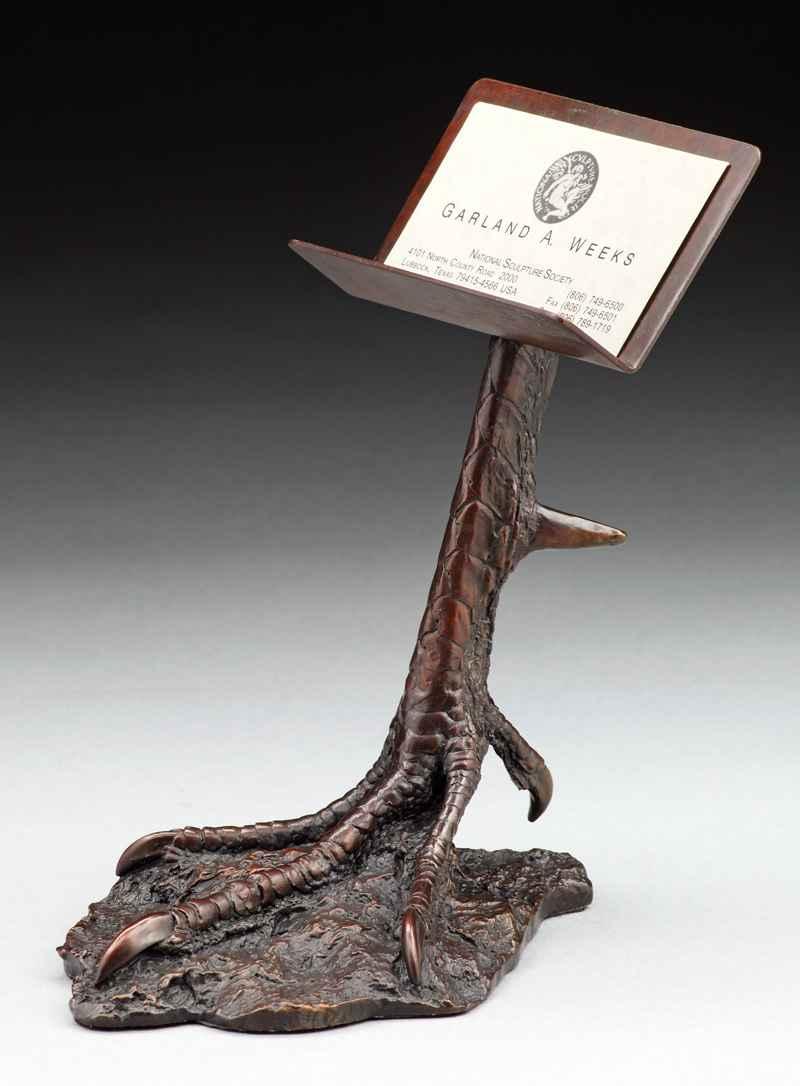 Turkey Leg Card Holder by  Garland Weeks - Masterpiece Online