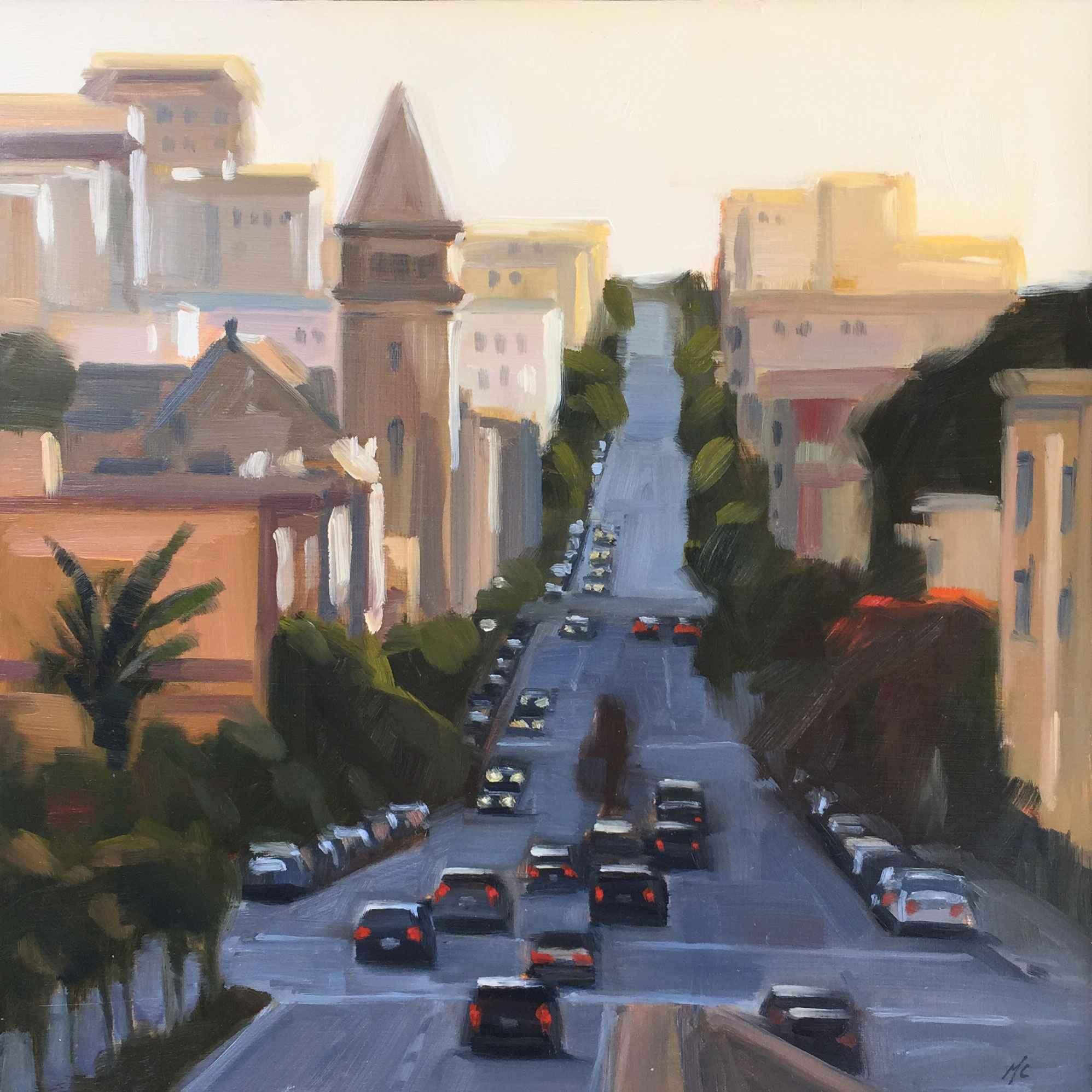 Last Light On Broadwa... represented  by  Michael Chamberlain