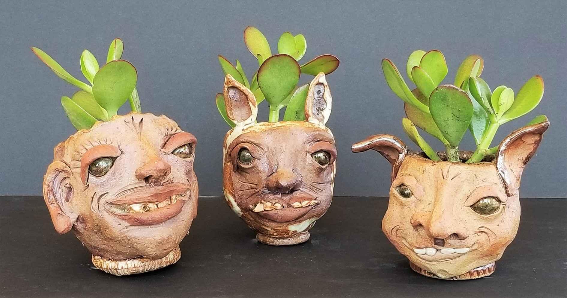 Medium Pot Head by  Linda Kowalewski - Masterpiece Online
