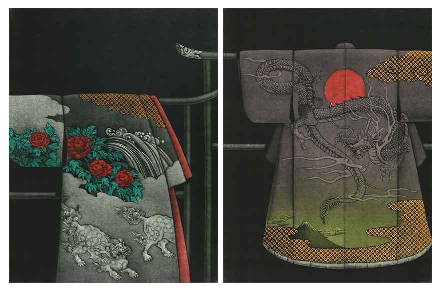 Kimono-Shishi & Ryu (... by  Katsunori Hamanishi - Masterpiece Online