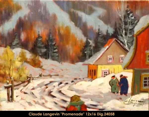 Promenade 24058 by  Claude Langevin - Masterpiece Online