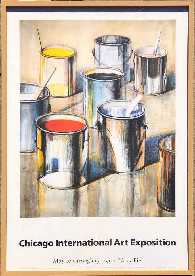 Paint Cans  (T004)  1... by  Wayne Thiebaud - Masterpiece Online