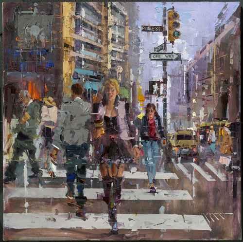 Prince Street, N.Y by  Mostafa Keyhani - Masterpiece Online