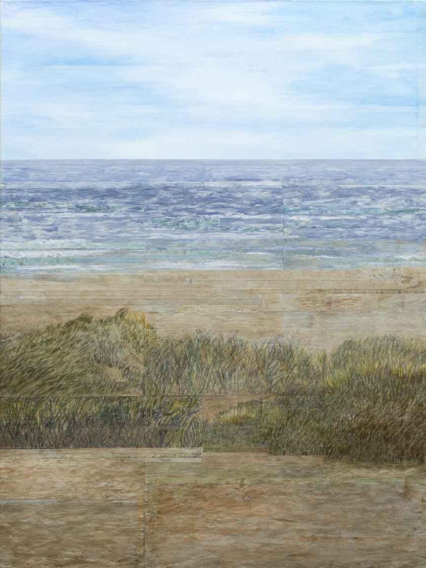 Summer Beach III by Ms. Gwen Davidson - Masterpiece Online