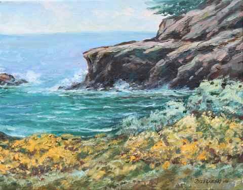 Coastal Spring, Pt. L... by  A Dzigurski II - Masterpiece Online