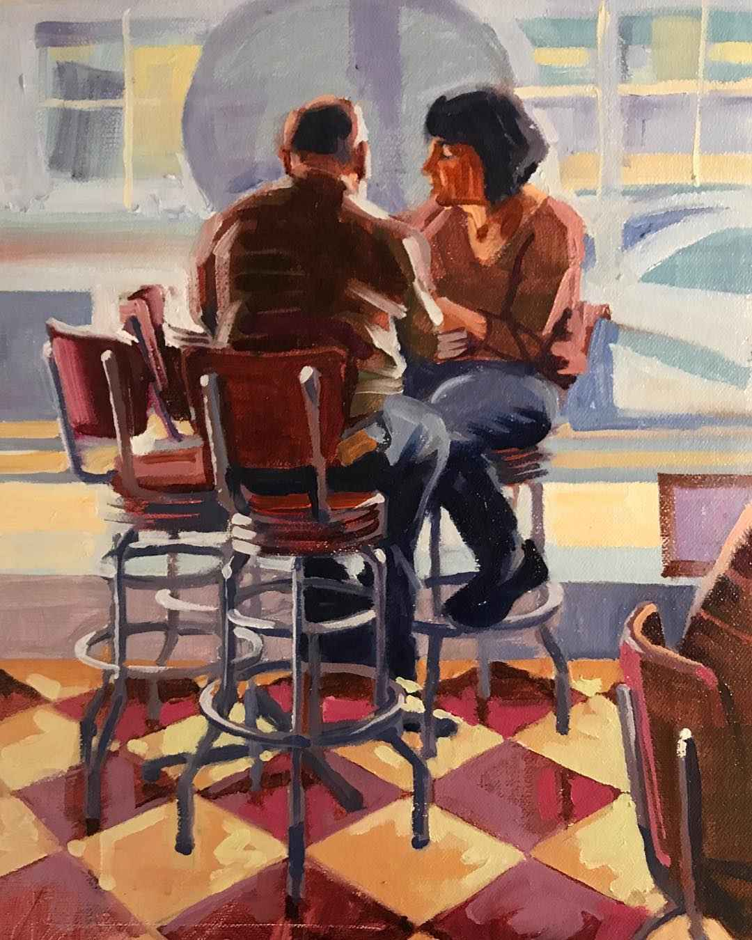 Brevard Couple by  Christopher Peterson - Masterpiece Online