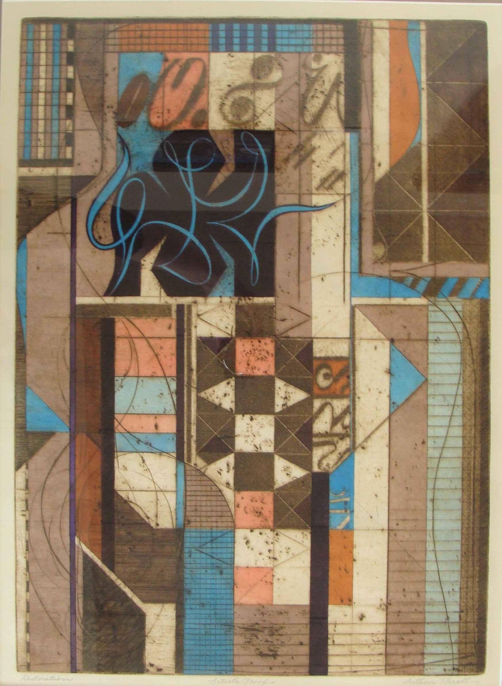 Restoration by Mr. Arthur Thrall - Masterpiece Online