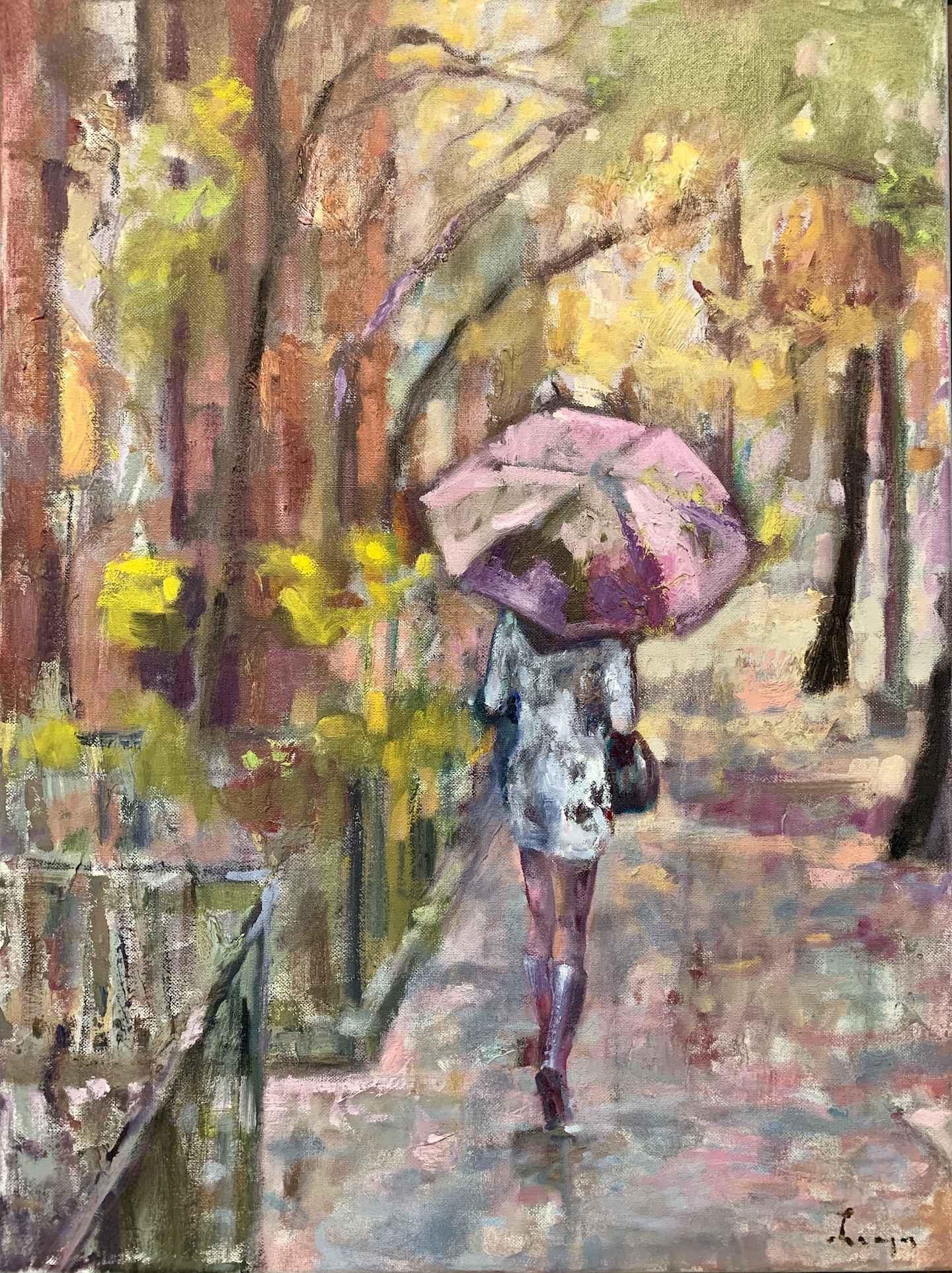 Summer Rain by  Traeger di Pietro - Masterpiece Online