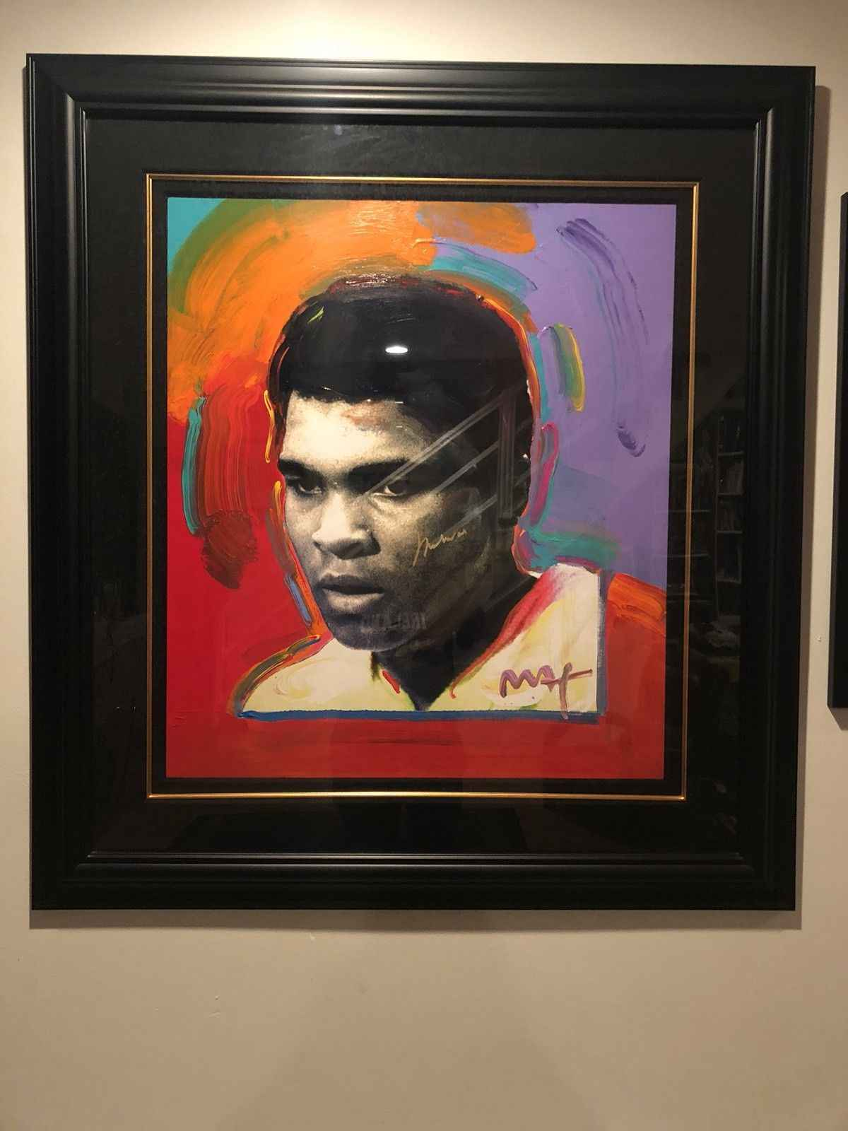 Muhammed Ali by  Peter Max - Masterpiece Online