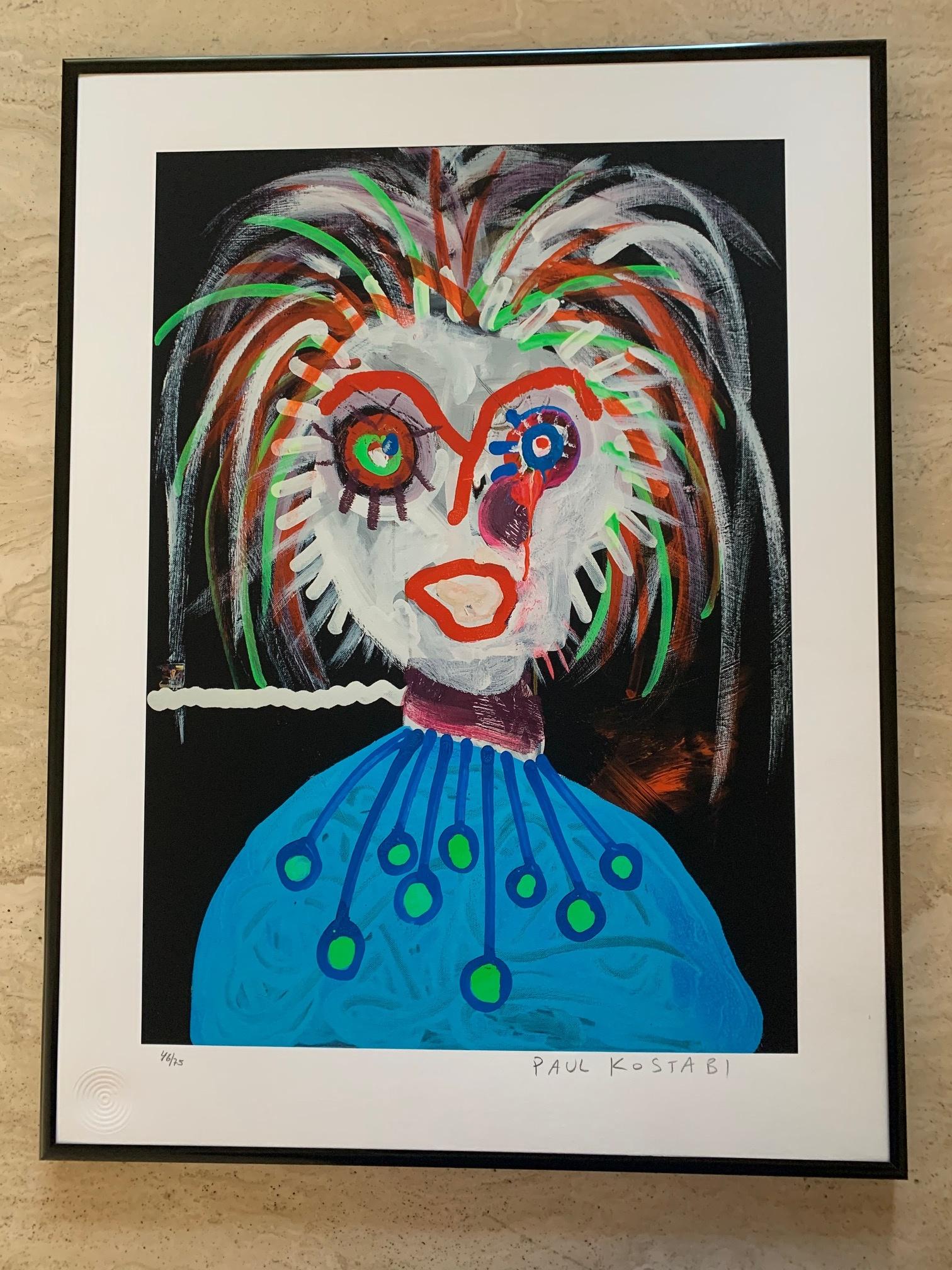 The Antagonist by  Paul Kostabi - Masterpiece Online