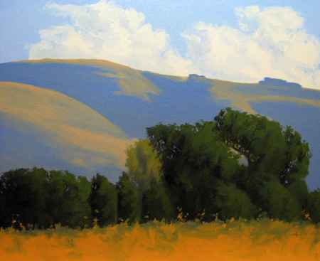Oaks & Evening Shadow by  Donald  Craghead - Masterpiece Online