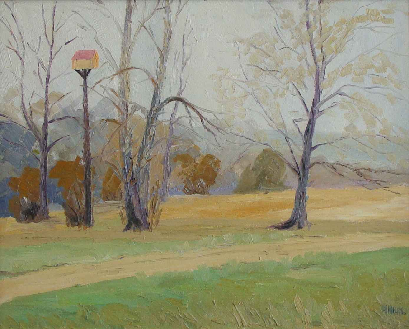 Fall Landscape with B... by Mr. Morley Hicks - Masterpiece Online
