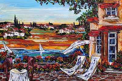 Mediterranean 179368 by  Maya Eventov - Masterpiece Online
