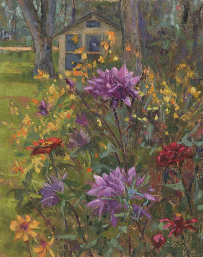 Dahlia's by the Dinin...  by  Chris Willey