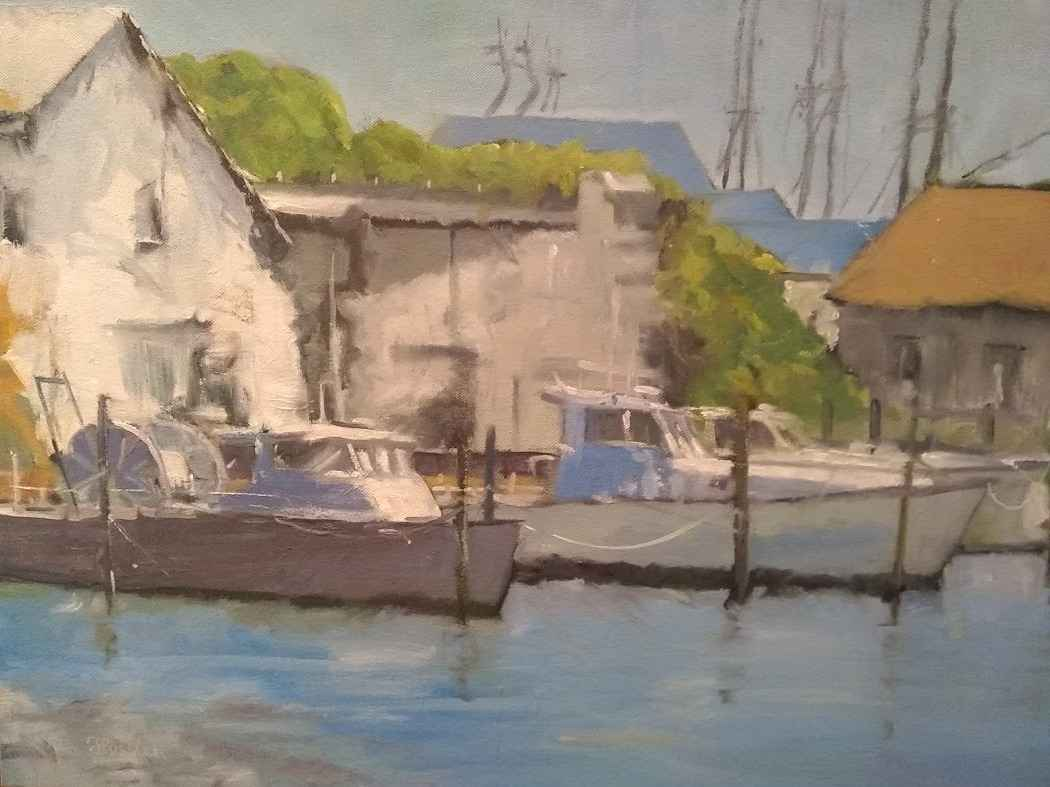 Nasty Harbor, Beaufort by  Steve Hessler - Masterpiece Online