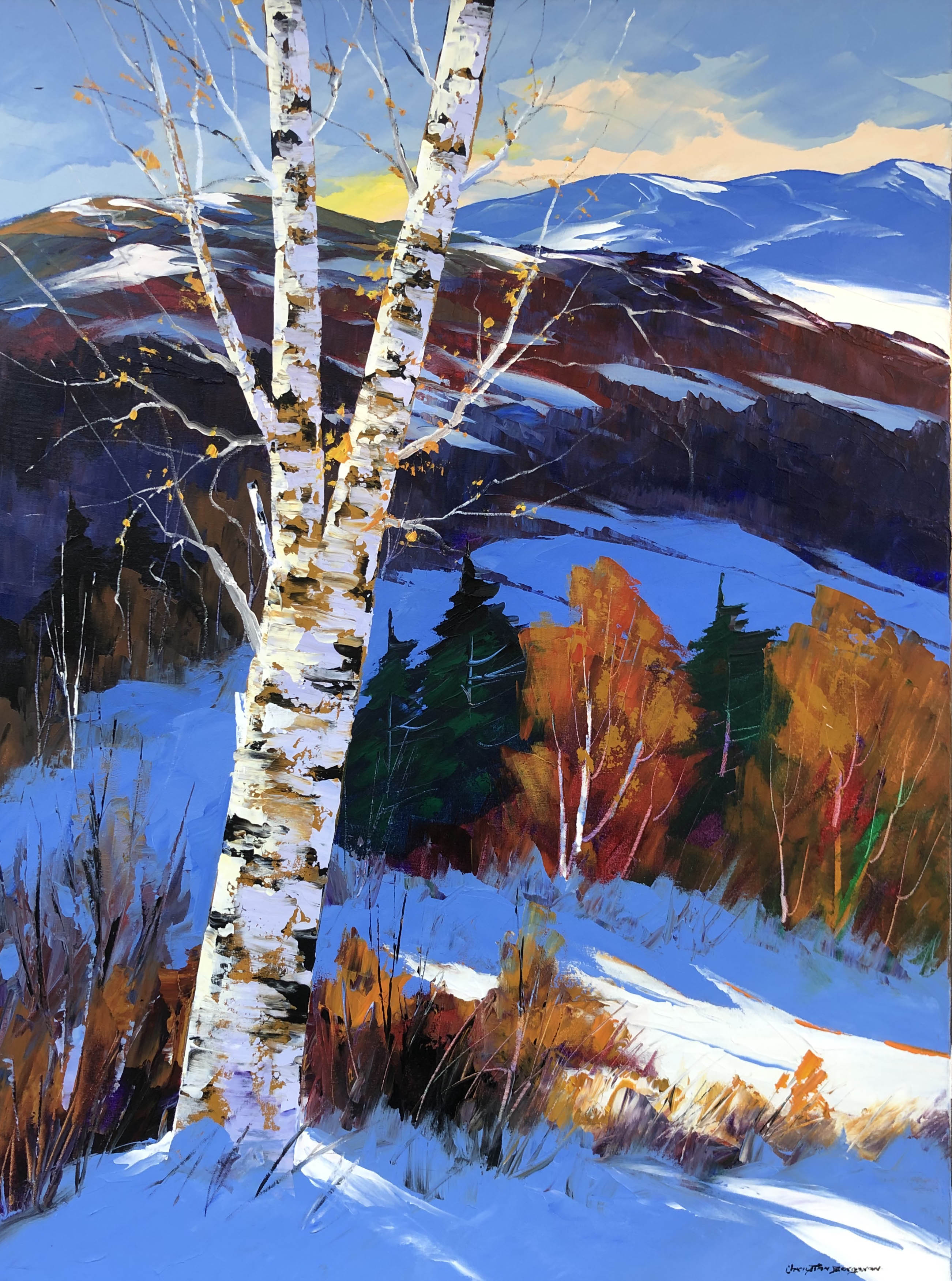 Winter Charm by  Christian Bergeron - Masterpiece Online