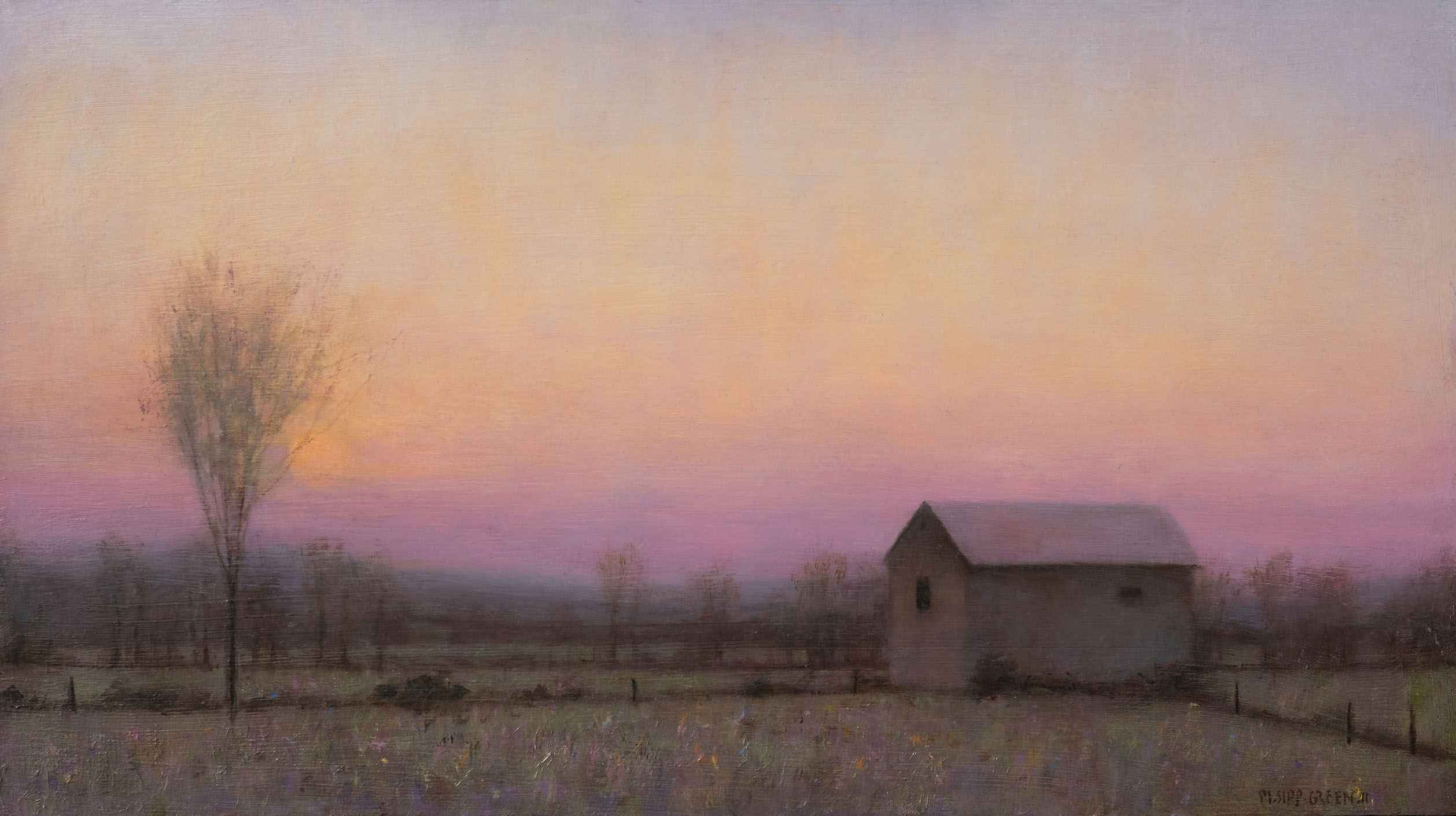 Sunset on Wesley's Fa... by  Mary Sipp Green - Masterpiece Online