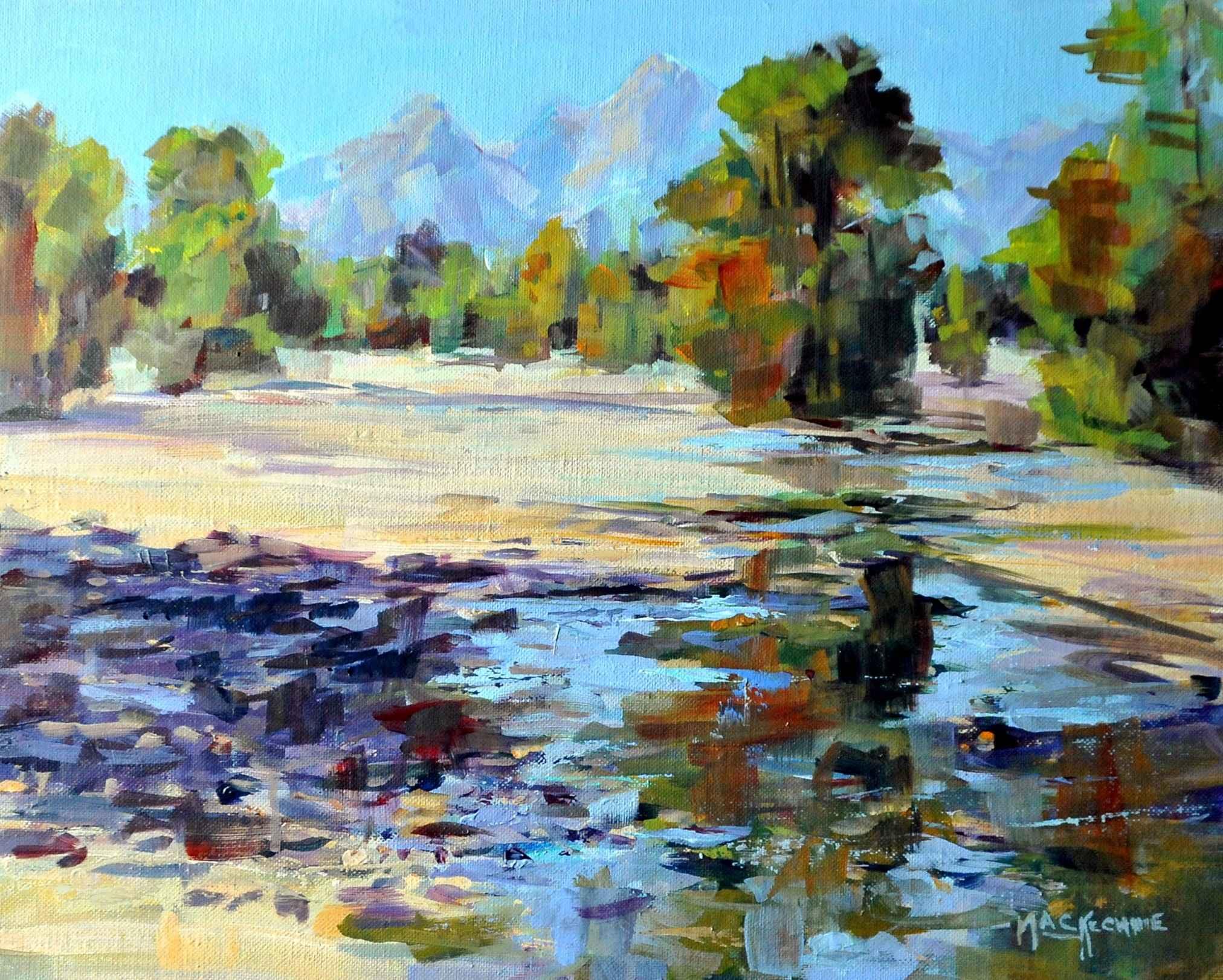 Tetons  by  Joe Mac Kechnie
