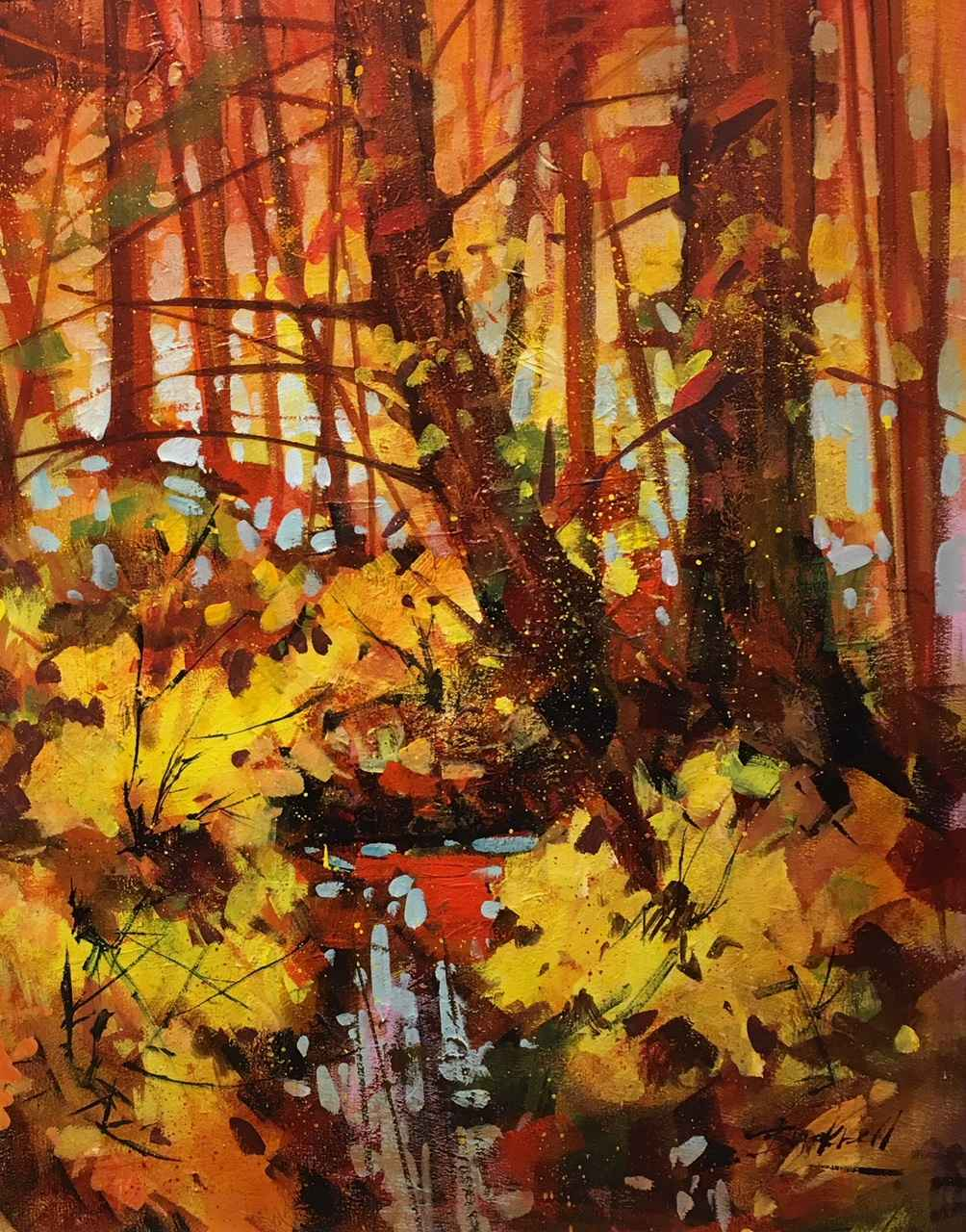 Autumn Reflections II by  Brian Buckrell - Masterpiece Online