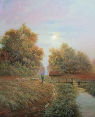 Grazing by  Roger  Budney - Masterpiece Online