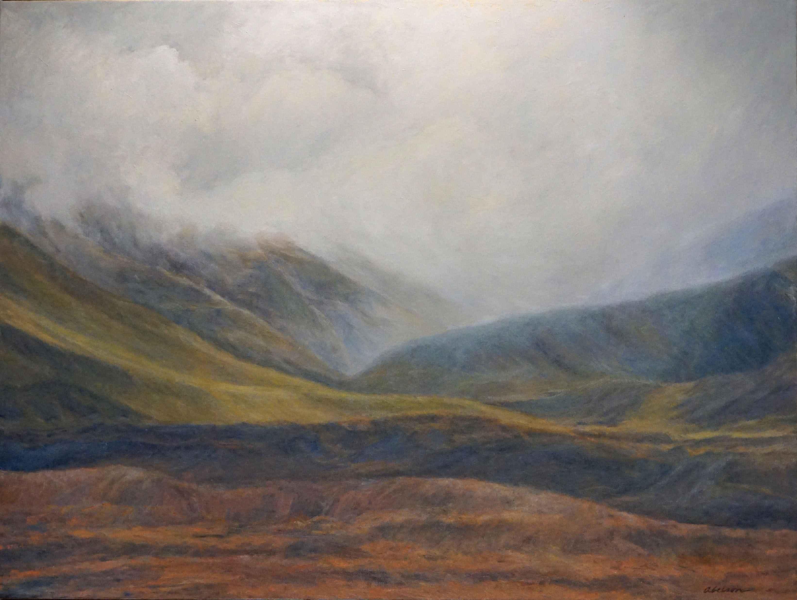 Fog over Tekapo by Mrs. Myra Abelson - Masterpiece Online