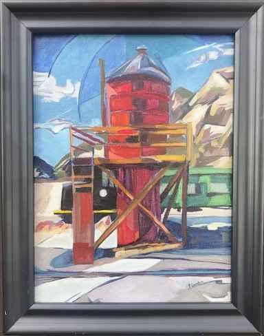Water Tower by  Priscilla Sandoz - Masterpiece Online
