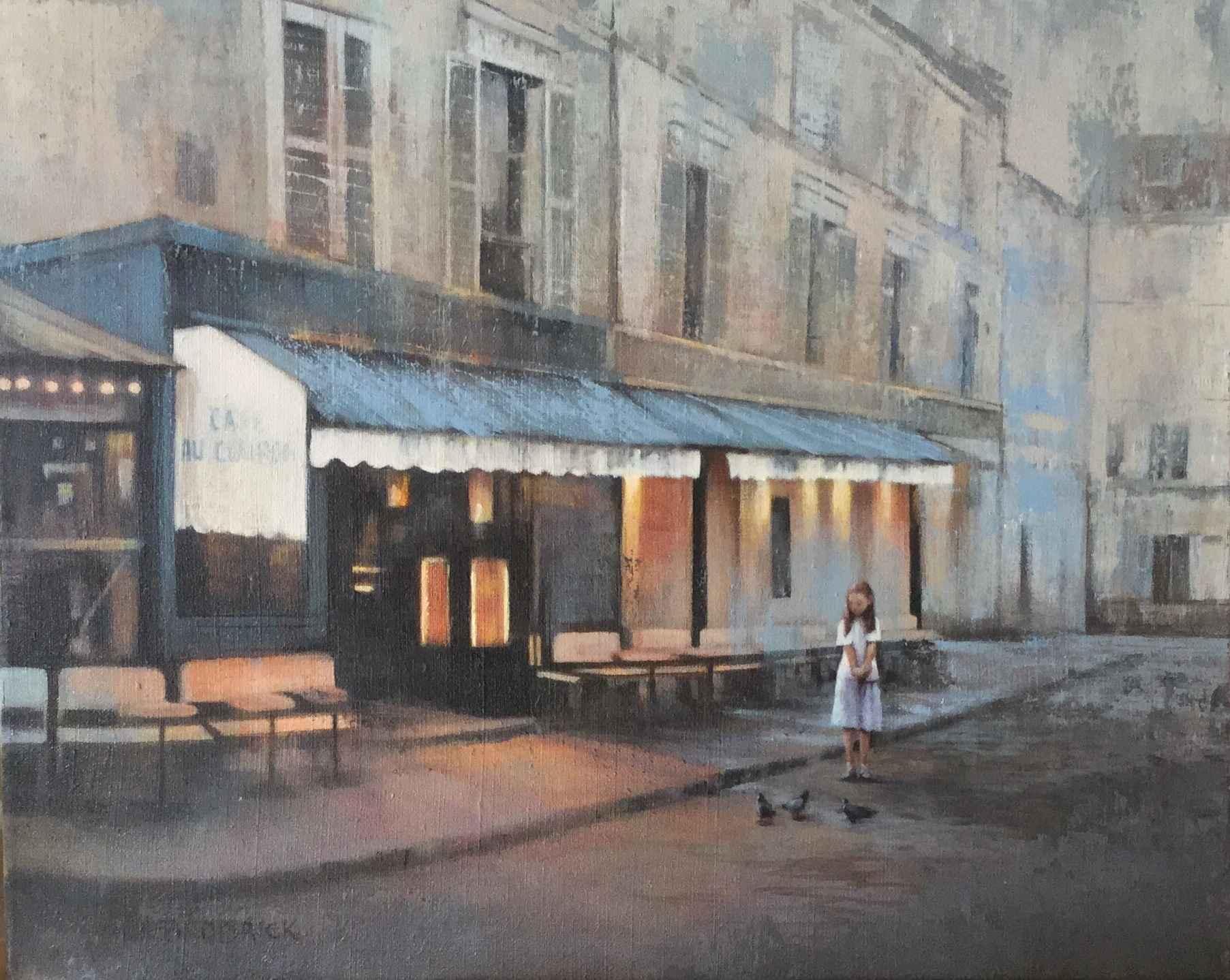 Evening in Paris by  JM Brodrick - Masterpiece Online