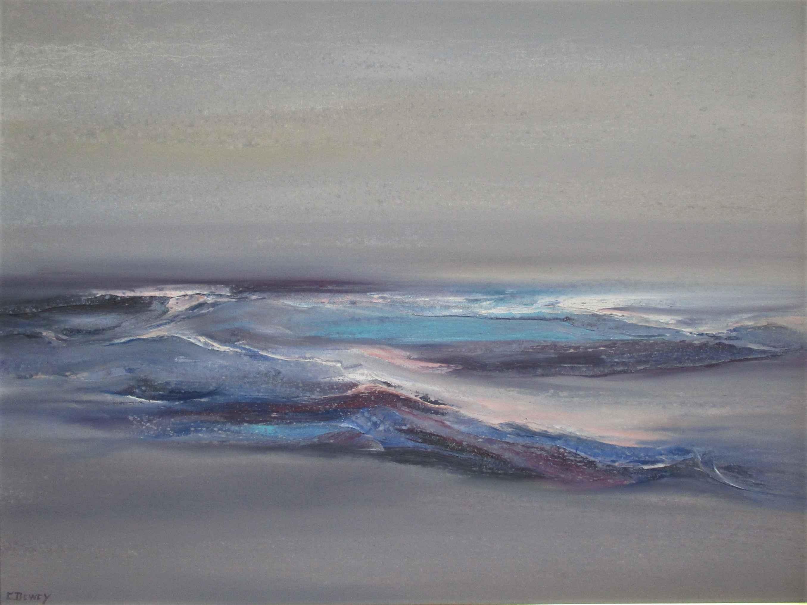 Unknown (Purple and B... by  Carolyn Dewey - Masterpiece Online