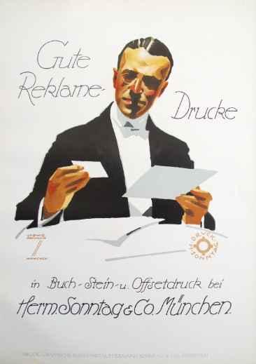 KBE113 - 1926 Gute Re... by  Ludwig Hohlwein - Masterpiece Online