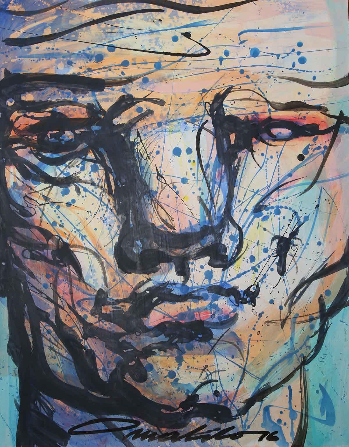 Retrato II  by  Osvaldo González Herrera