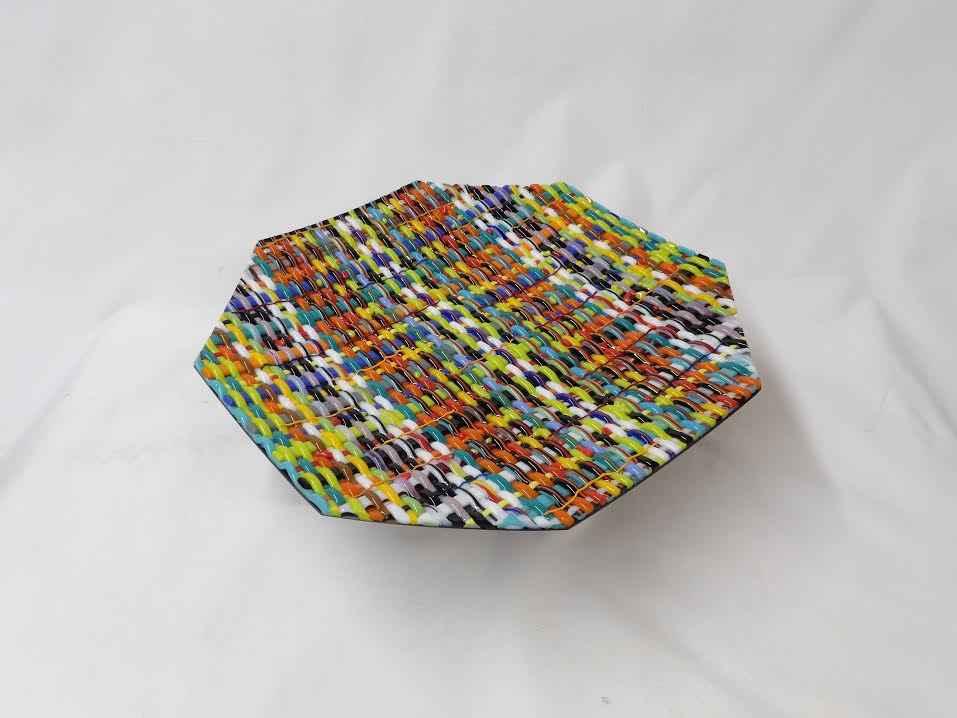 Woven Plate by  Joe Speck - Masterpiece Online