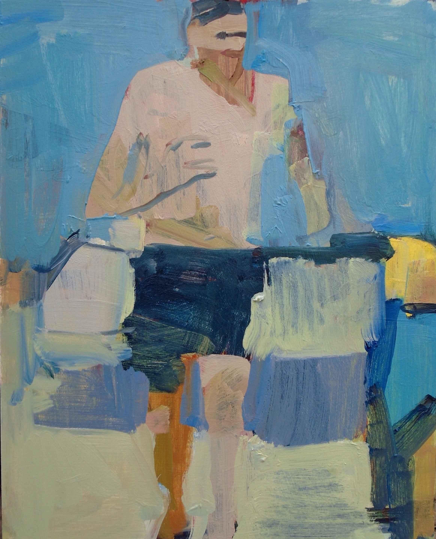Man Running  by  Jennifer Pochinski
