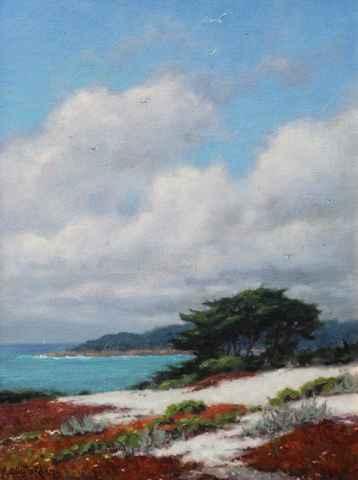 Blue Skies, White Sand by  Sally  Jordan - Masterpiece Online