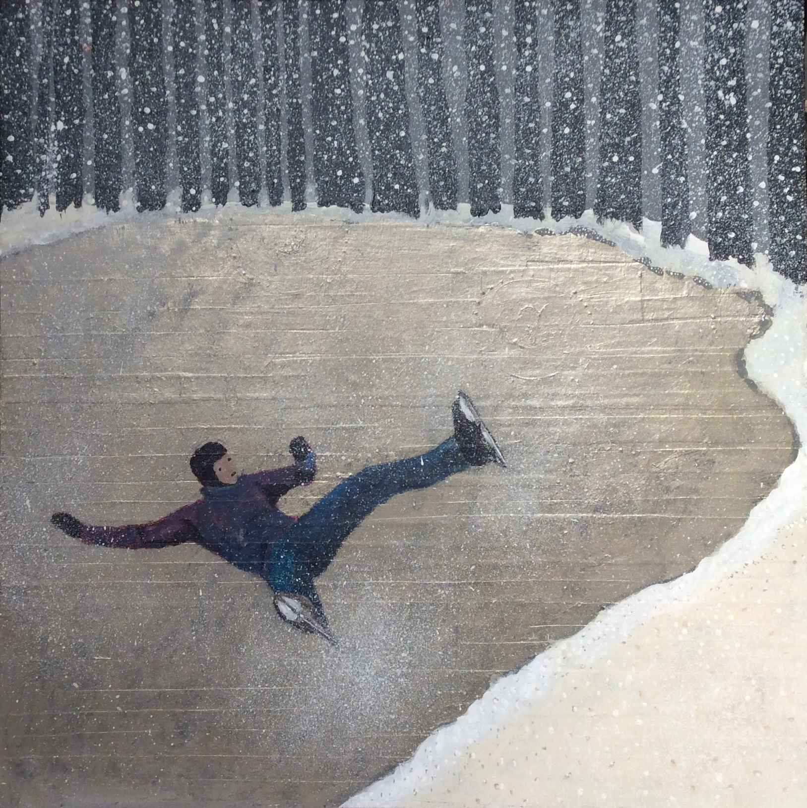Thin Ice by  Cindy Kane - Masterpiece Online