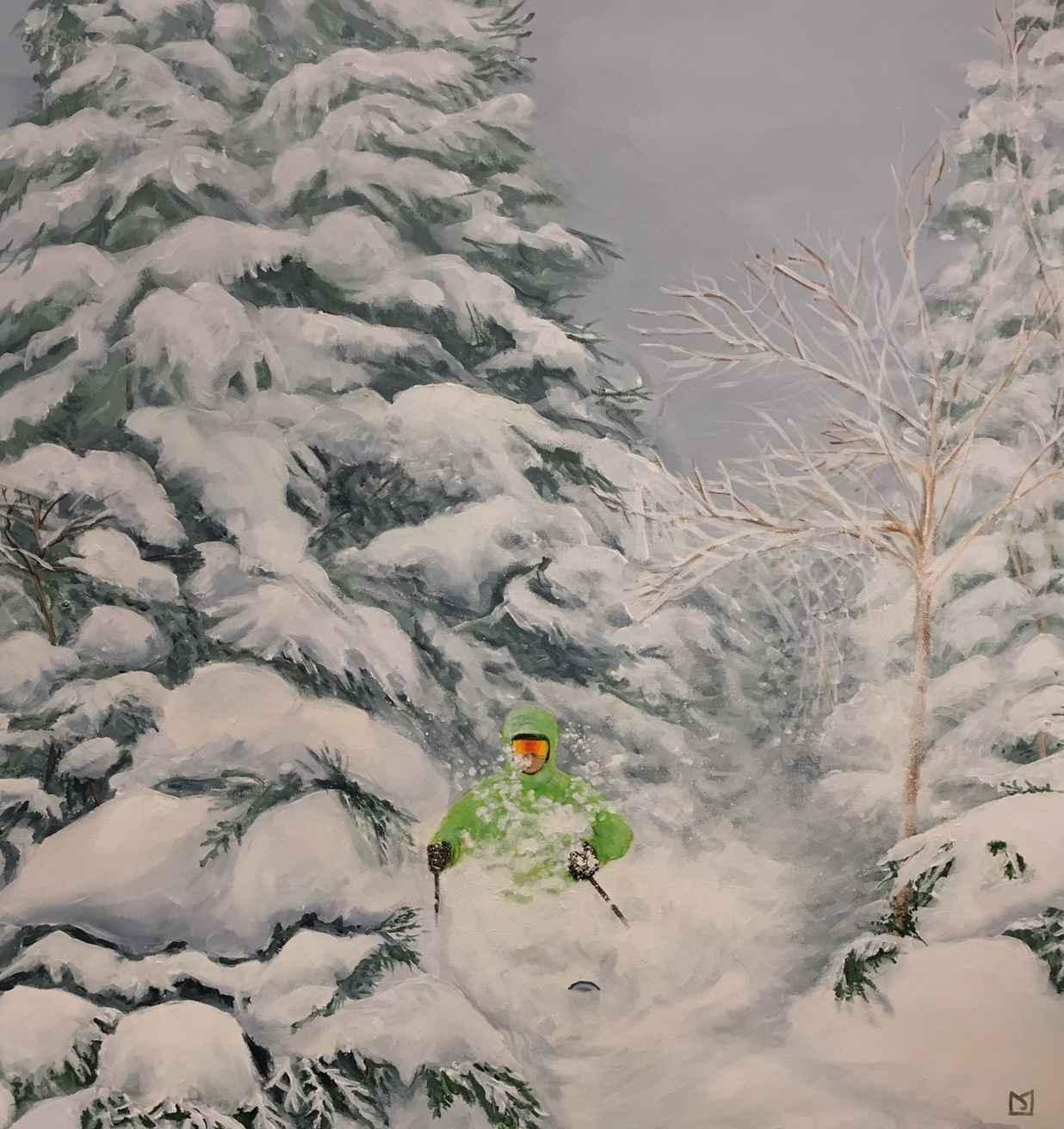 Through the Trees by  M.J. Jones - Masterpiece Online