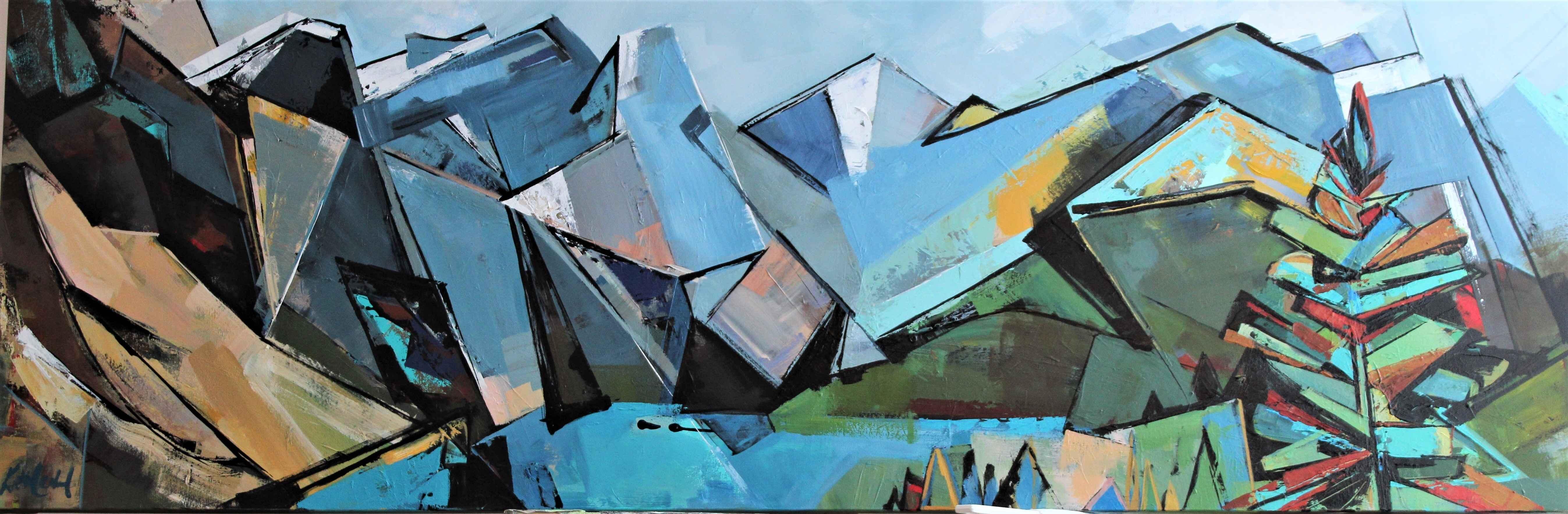 Valley of Ten Peaks by  Katie Leahul - Masterpiece Online