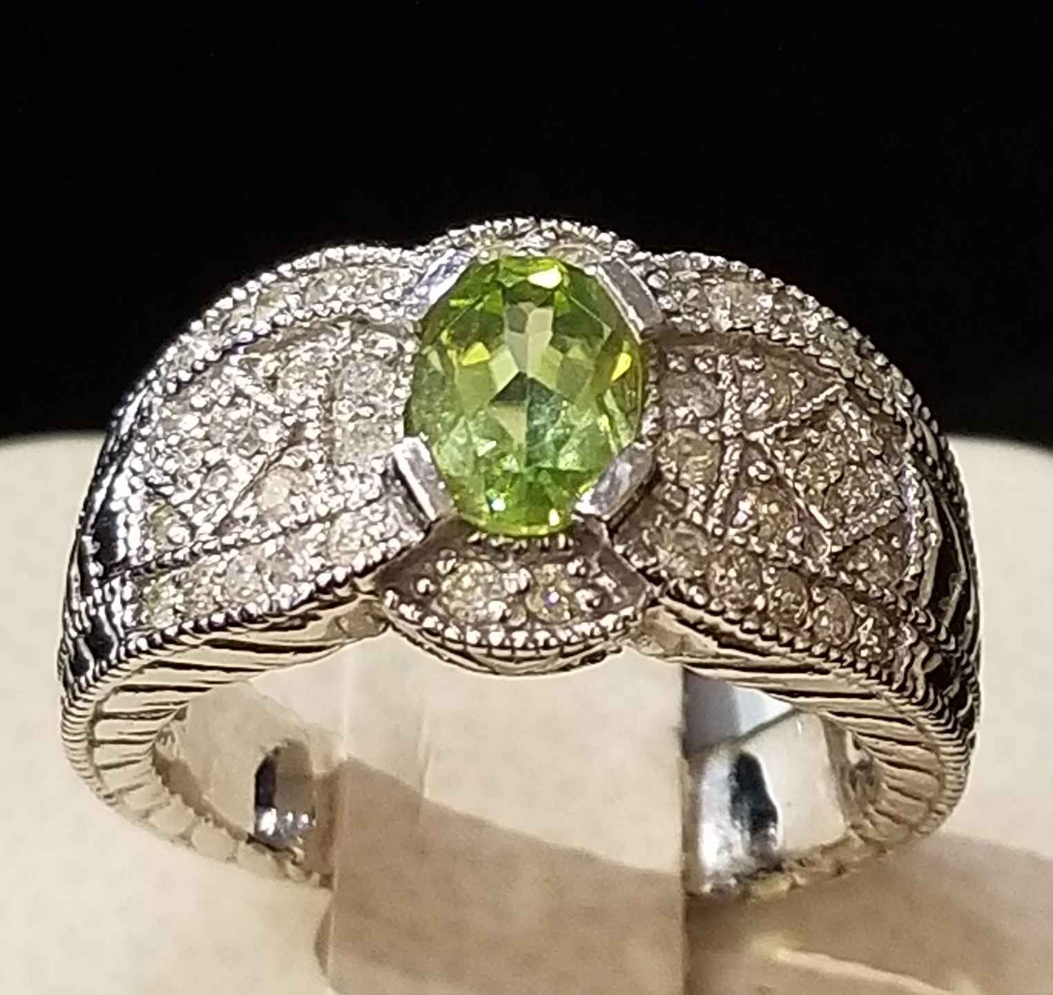 Peridot Ring - WG by  My Jeweler - Masterpiece Online