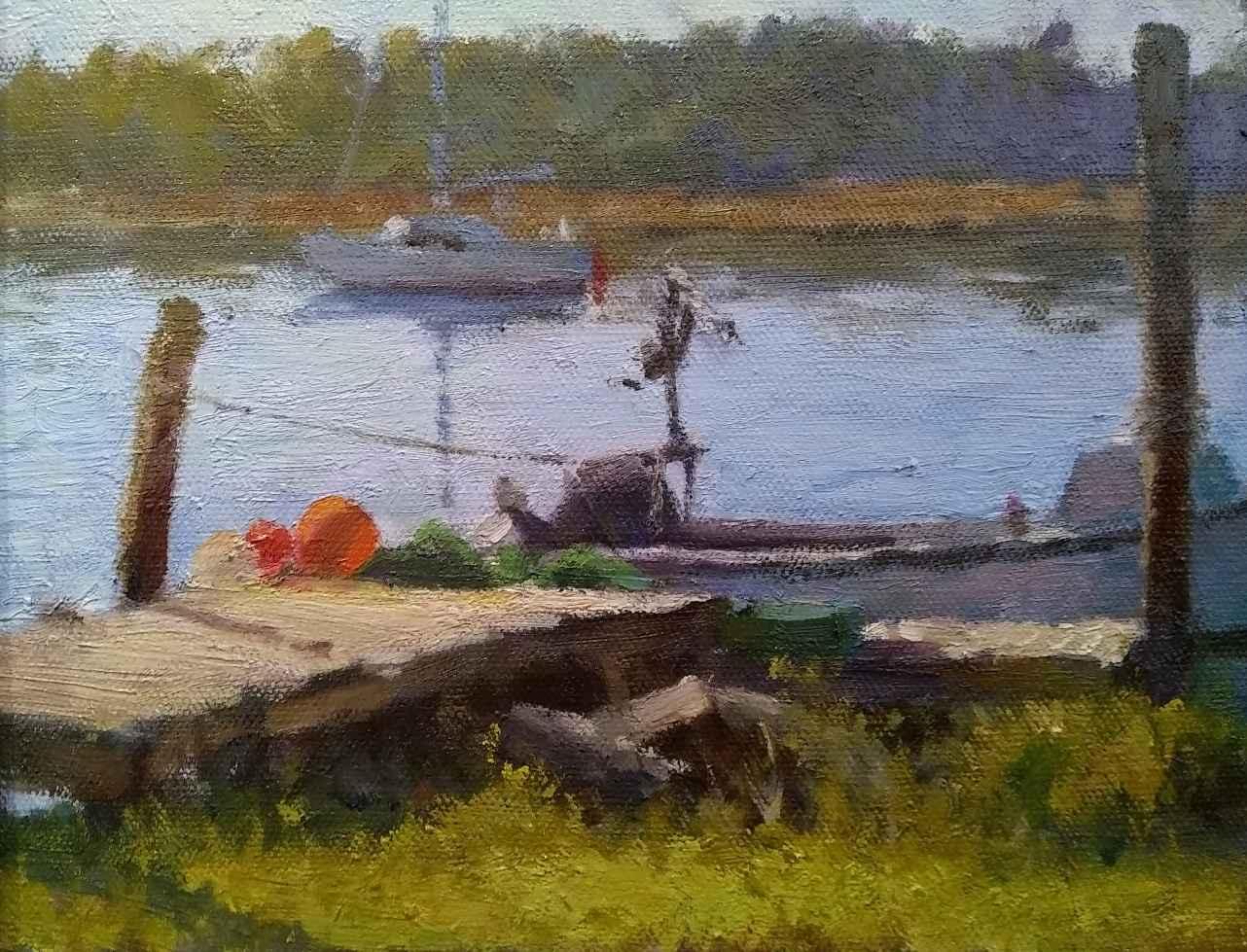 Taylors Creek Color by  Jimmy Craig Womble - Masterpiece Online