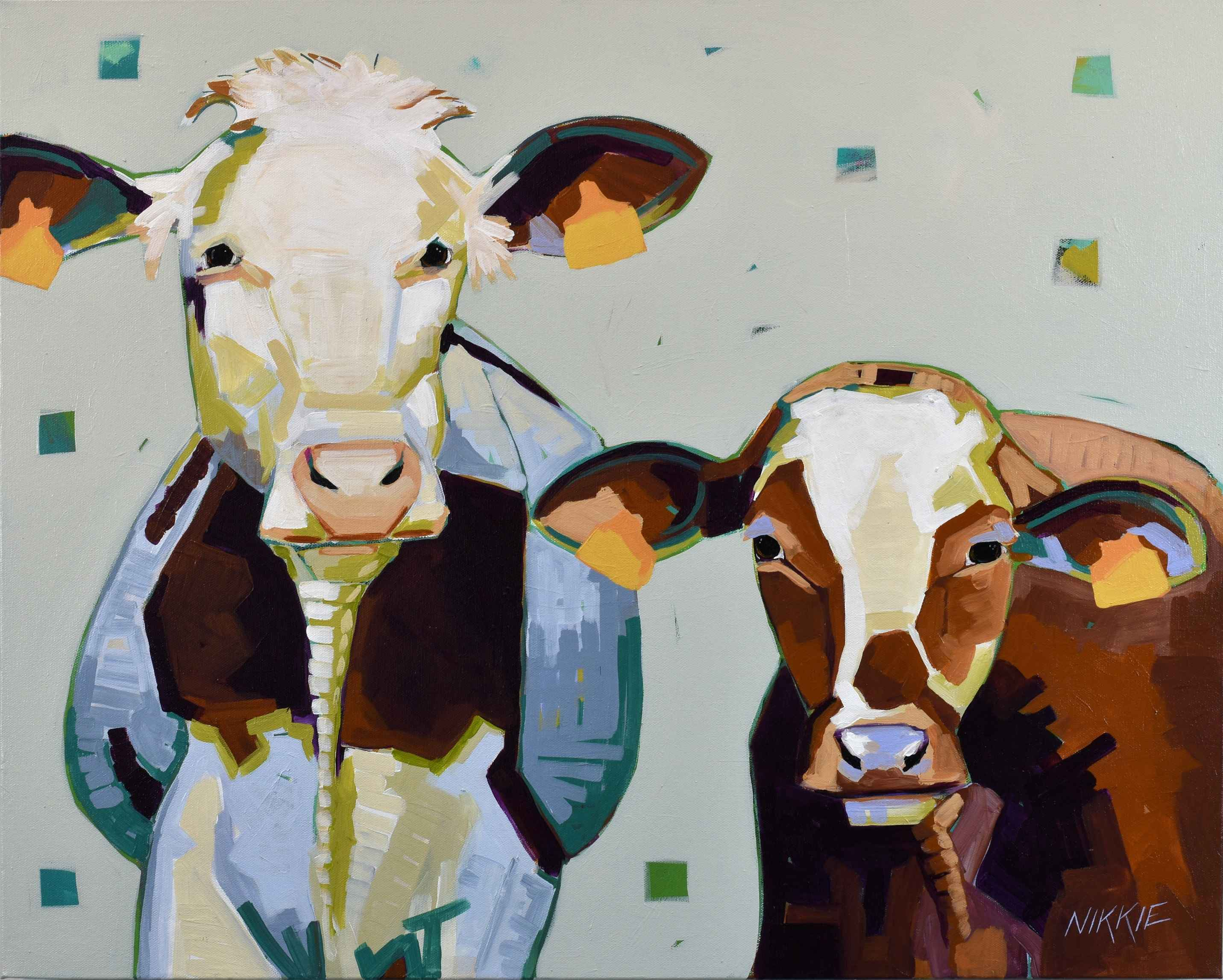 Bovine Besties by  Nikkie Markle - Masterpiece Online