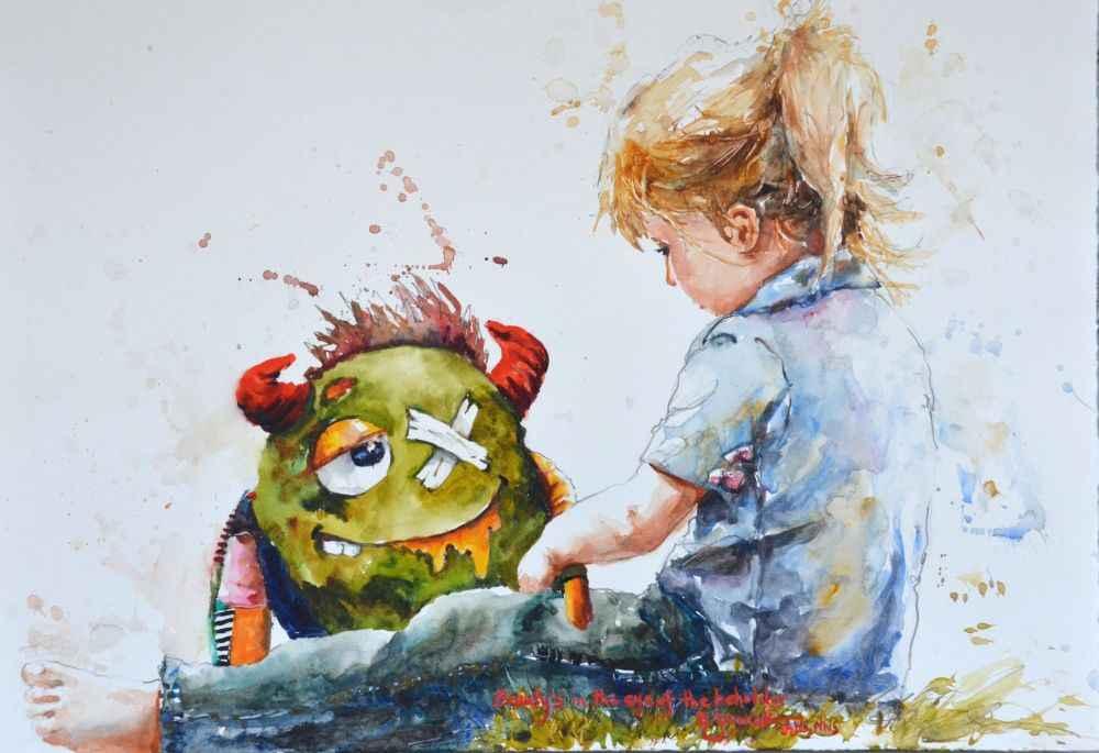 Beauty's in the Eye o... by  Bev Jozwiak - Masterpiece Online