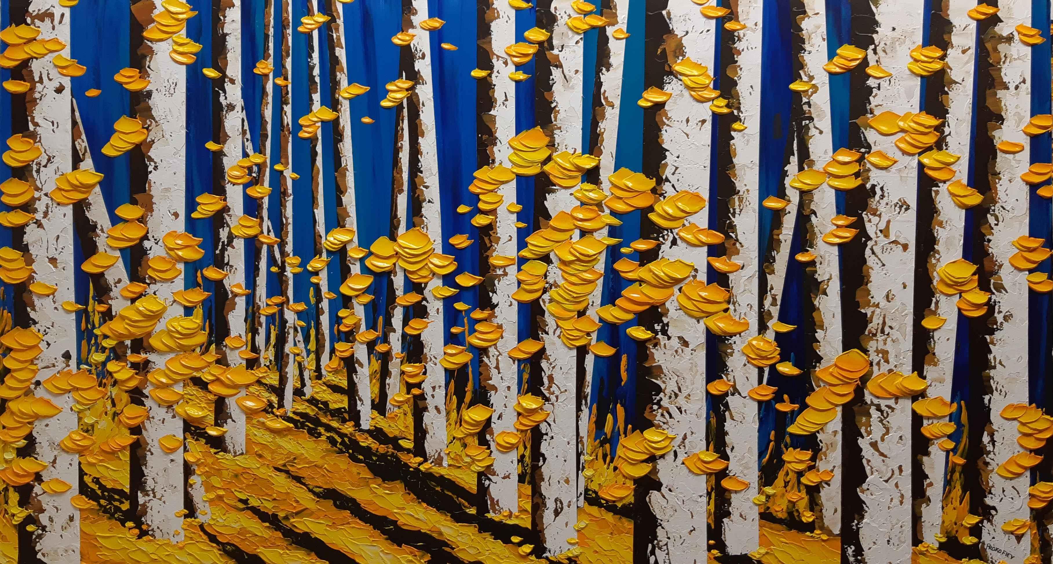 Blue Symphony by  Everist Prokofiev - Masterpiece Online