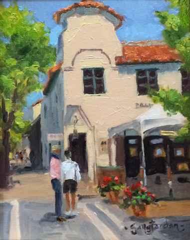 Art Walk by  Sally  Jordan - Masterpiece Online