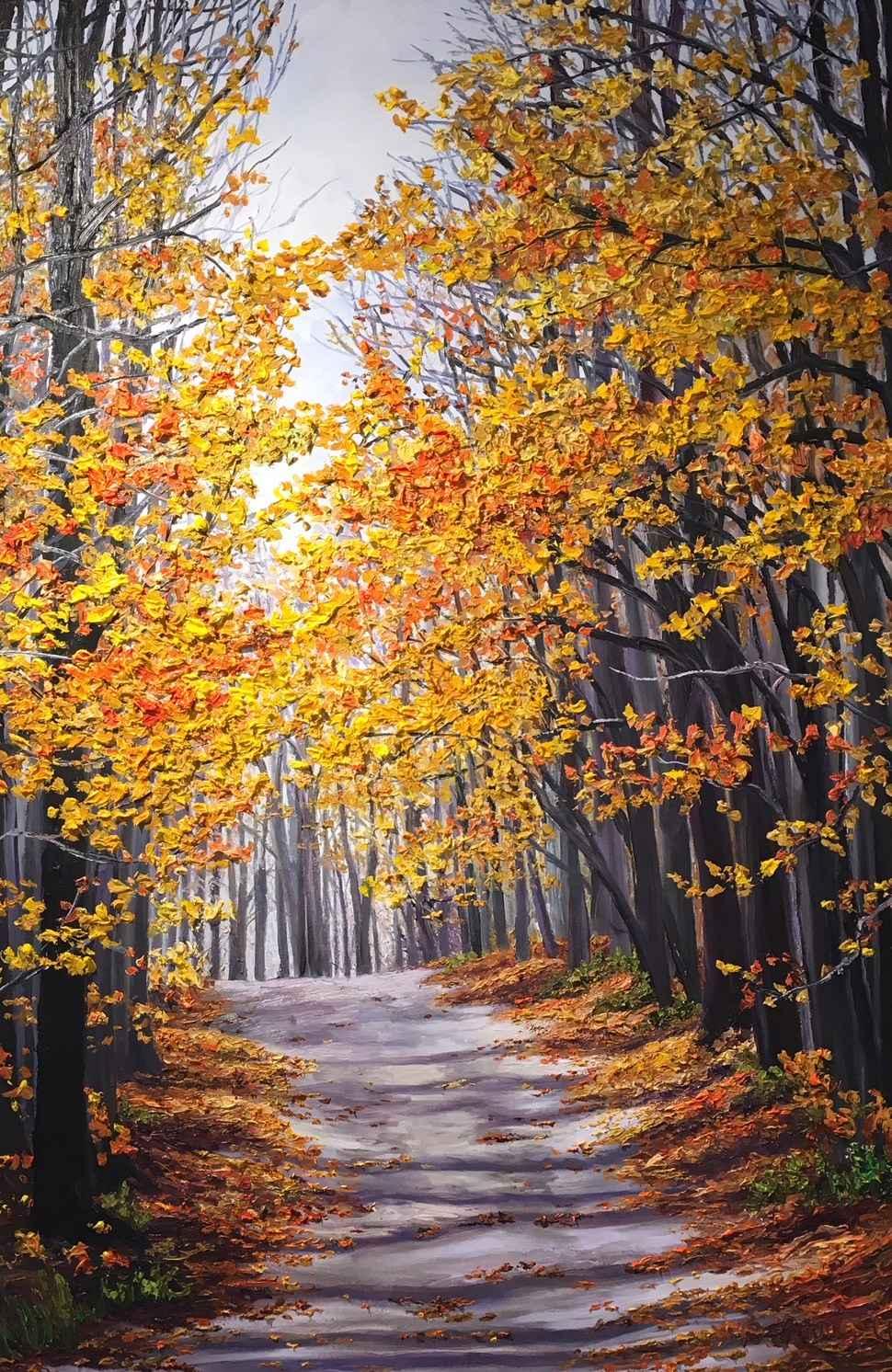 The Road Less Travell... by Ms Debra Lynn Carroll - Masterpiece Online