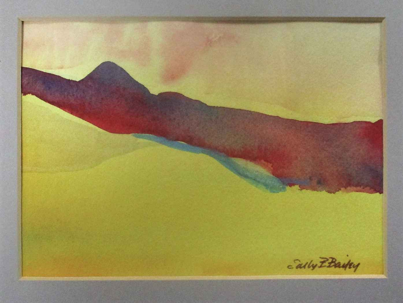 Unknown (yellow sky) by  Sally Bailey - Masterpiece Online