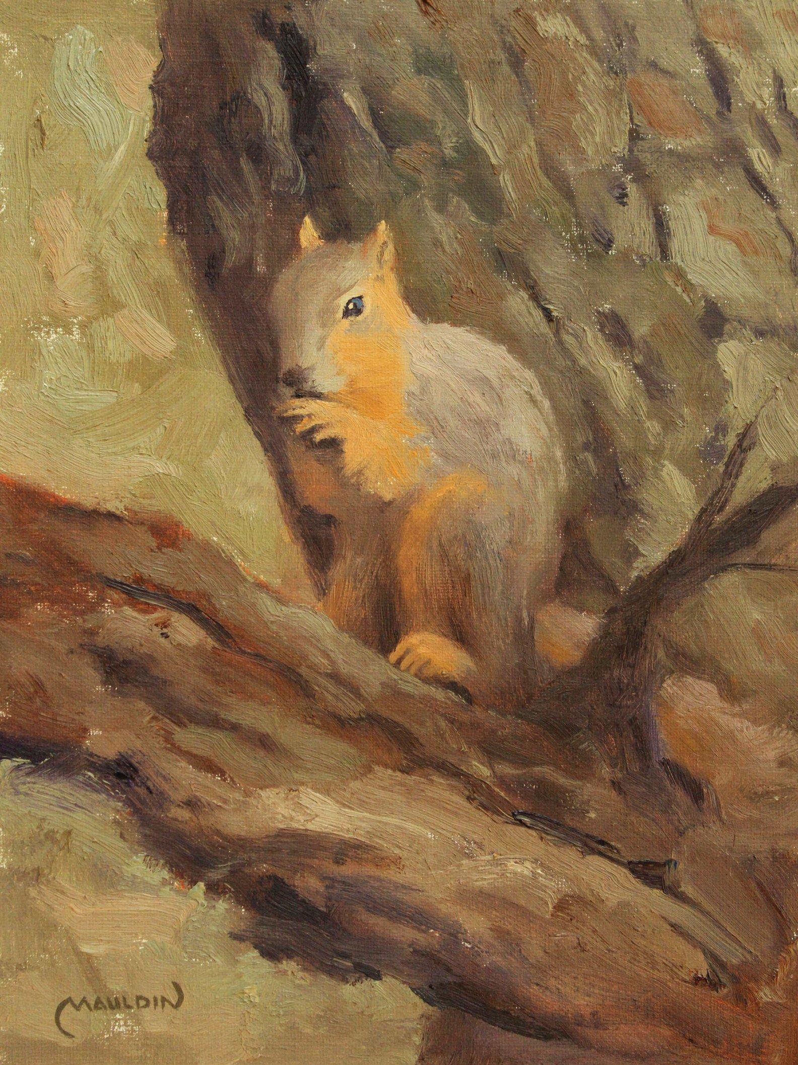 Squirrel by  Chuck Mauldin - Masterpiece Online