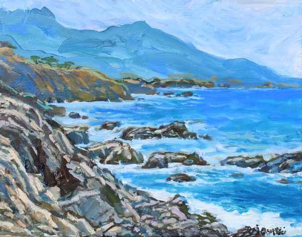 Rocky Point Surf by  A Dzigurski II - Masterpiece Online