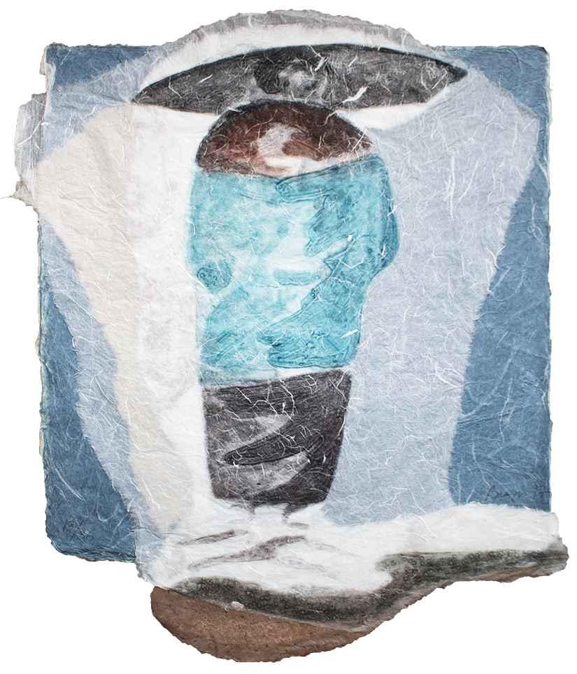 Blue Veil by  Sarah Brayer - Masterpiece Online