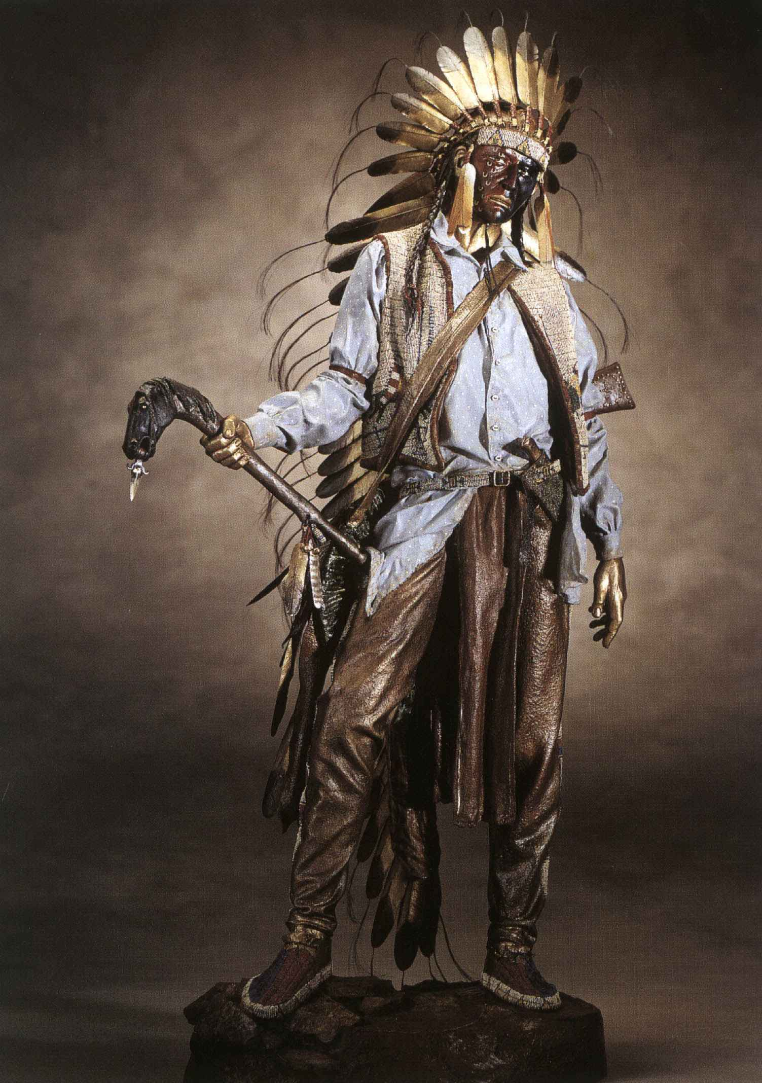 American Horse Chief ... by Mr. & Mrs. Dave McGary - Masterpiece Online