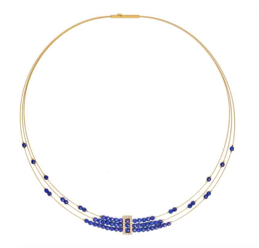 Abiani Lapis Necklace by  Bernd Wolf - Masterpiece Online