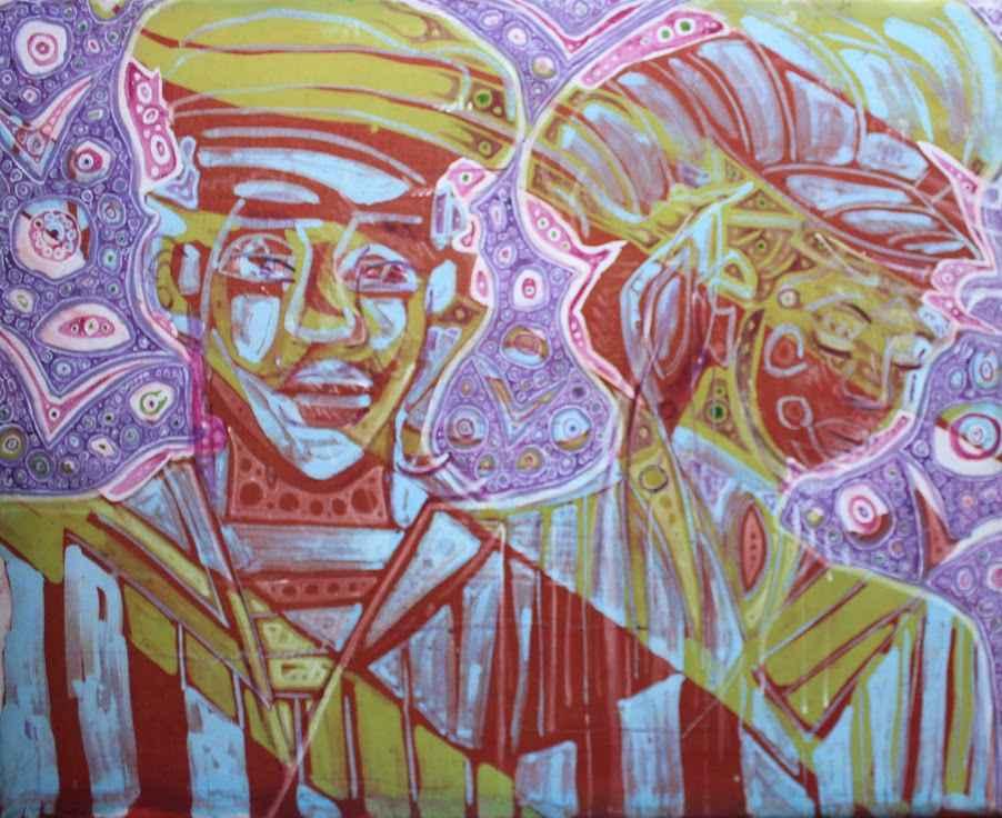 Sailors Ashore 1 by  Makemba Kunle - Masterpiece Online